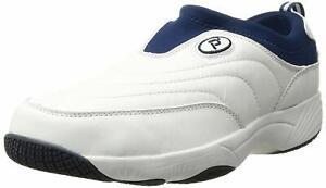 Propet Men's M3850 Washable Moc Walking Shoe, White, Size 13.0 38ZK