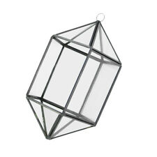 Hanging Glass Terrarium Flower Succulent Plant Planter Pot Home Decor #12