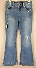 Seven 7 Sexy Flare Women's Distressed Jeans Size 28