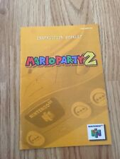 Mario Party 2 Instruction Manual Only N64 Nintendo 64