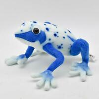 Plush Soft Toy Blue Poison Dart Frog by Hansa. 17 cm. 5220  From japan
