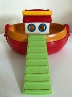 Playmobil 1.2.3 Floating Noah's Arc Take Along Boat & Ramp
