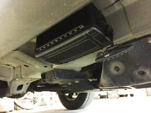 Secret Under Car Compartment - Extra Large Magnetic Stash Box 190lbs Force
