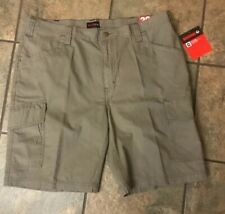 Wolverine Men's Pre Washed Cargo Shorts Brown Size 38 X 10 NEW Free Ship