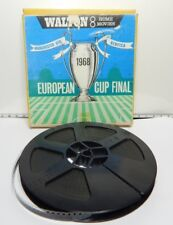 1968 European Cup Final Manchester UTD Vs Benfica Walton 8mm Home Movies