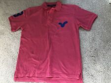 Boys Pink Voi Jeans Polo Shirt - Age 11/12 Yrs