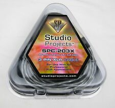 Studio Projects SPC-203X XLR Female to XLR Male, 20ft - New, Free Shipping