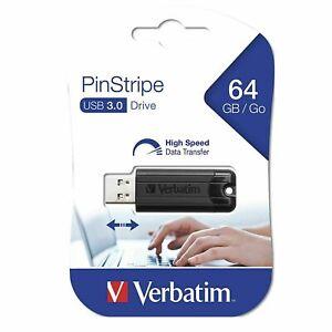 Clef usb 64go Verbatim cle usb 64 go Store N Go Pinstripe USB 3.0