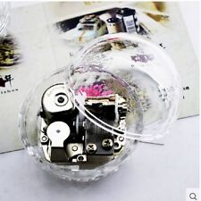 Gorgerous Clear Oracle shape Music Box : CANON IN D