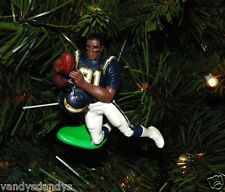 tony MARTIN san diego CHARGERS xmas NFL football ornament HOLIDAY vtg JERSEY