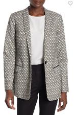 Maison Scotch & Soda Blazer Stretch Jacquard Tailored Blazer Small Retail $248