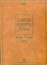 1993 Italia Repubblica libro ufficiale delle poste con annata nuova perfetta **