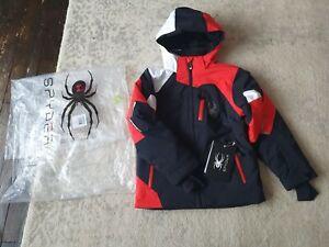 Boy's Spyder Ski Jacket 9-10 Years NWT