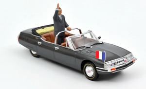 1/43 Norev Citroen SM Présidentielle 1995 + Jacques Chirac Livraison Domicile