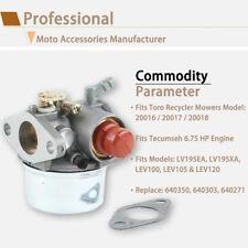 Carburetor For Toro Recycler Mowers 20016 20017 20018 Tecumseh 6.75HP Engine US