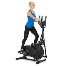 82a03b21ead Elliptical Cross Trainer Excercise Bike Cardio Fitnes Training Computer Gym  Home