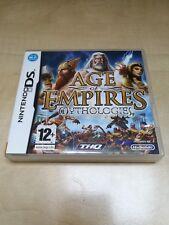 Age of Empires Mythologies Nintendo DS *CIB*