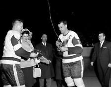 Marcel Pronovost ,Gordie Howe Detroit Red Wings 8x10 Photo