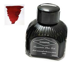 Diamine Oxblood 80mL Fountain Pen Ink Bottle - NEW Red Blood