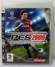 SONY PS3 EUROPE REGION 2 PRO EVOLUTION SOCCER PES 2009 100% COMPLETE VIDEO GAME