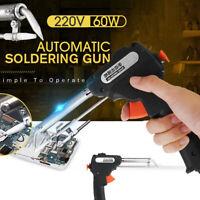 220 60W Electric Solder Welder Welding Spear Iron Automatic Manual Welding