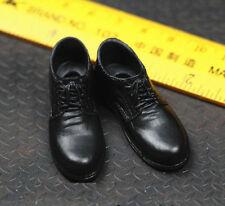 Toys City 1/6 Black Shoe for Custom Narrow Shoulder Body ZY Suit Hot Bruce Wayne