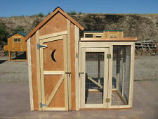 Chicken coop plan & material list, emailed version only, The Poop Coop #1