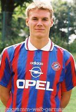 Alexander Zickler Bayern München 95-96 seltenes Foto+2