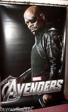 Cinema Banner: AVENGERS ASSEMBLED - MARVEL 2012 (Nick Fury) Samuel L. Jackson