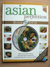 ASIAN PERFECTION - BOOK & DVD - FEATURING SELECTED RECIPES WITH BELINDA JEFFERY.