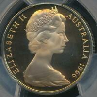 Australia, 1966 Twenty Cents, 20c, Elizabeth II - PCGS PR67DCAM (Proof)