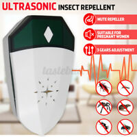 9-36KHz Ultrasonic Electronic Anti Cockroach Mice Mouse Pest Bug Control Kille