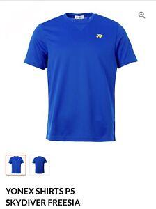 Yonex T Shirt P5 Skydiver/Freesia (Asia 2XL= US L)
