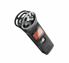 Zoom H1 Handy Recorder Black Stereo Digital Audio Microphone Version 2.0