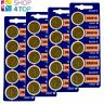 20 SONY CR2016 LITHIUM BATTERIES 3V 90 MAH CELL COIN BUTTON EXP 2028 NEW