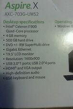 Desktop computer brand new in the box