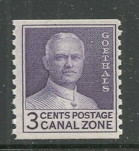 U.S. Possession Canal Zone stamp scott 153 - 3 cent issue of 1960 - mnh - 11x