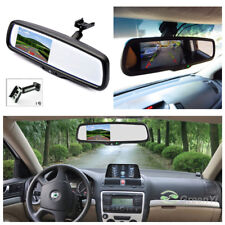 "4.3"" TFT Electronic Auto Dimming Car Rear View Mirror Monitor w/ Special Bracket"