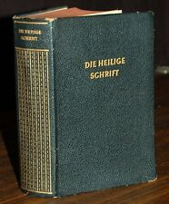 Die Heilige Schrift GERMAN Martin Luther Translation LEATHER Maps & Photographs