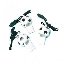 Amscan Football 12-soccer Whistles Favours UK