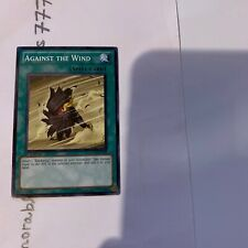 AGAINST THE WIND *1st EDITION DP11-EN018 ENGLISH Yu Gi Oh!