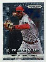 2013 Panini Prizm #242 DIDI GREGORIUS Phillies Logo Rookie Card RC BASEBALL
