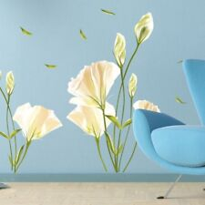Removable Wall Stickers large lily flower Warm Home Room Mural Art Decor LK3C