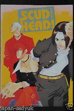 "JAPAN Ru-Garu Gameo Art Book: The King of Fighters Series Visual Book ""Scud Head"