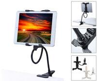 AGOZ Flexible Arm Gooseneck Desk Bed Kitchen Lazy Holder Mount Stand for iPad