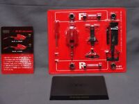 Kyosho Ferrari F1 91 Formula Collection 1/64 Scale Box Mini Car Display CA3359
