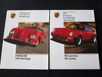 1987 Porsche 911 Carrera 930 Turbo Dealer-Only Brochure Coupe Targa Cab Catalogs