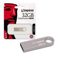 Kingston DataTraveler SE9 32GB USB 2.0 Flash Stick Pen Memory Drive Uk