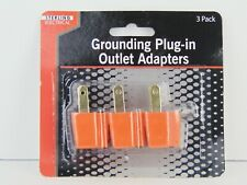 Grounding Plug-in Outlet Adapters (3 Piece)