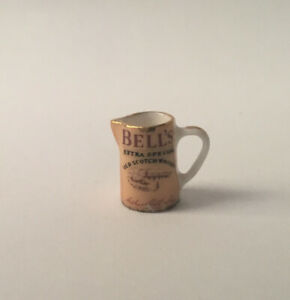 Dolls House Hand Decorated 'Bells Whisky' Water Jug